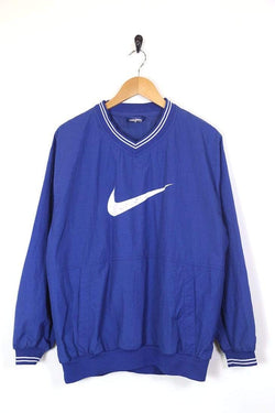 Jacket Nike Men's Nike Sports Pullover Jacket - Blue L