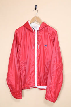 Lacoste Jacket Large / Red IZOD Lacoste Bomber Jacket