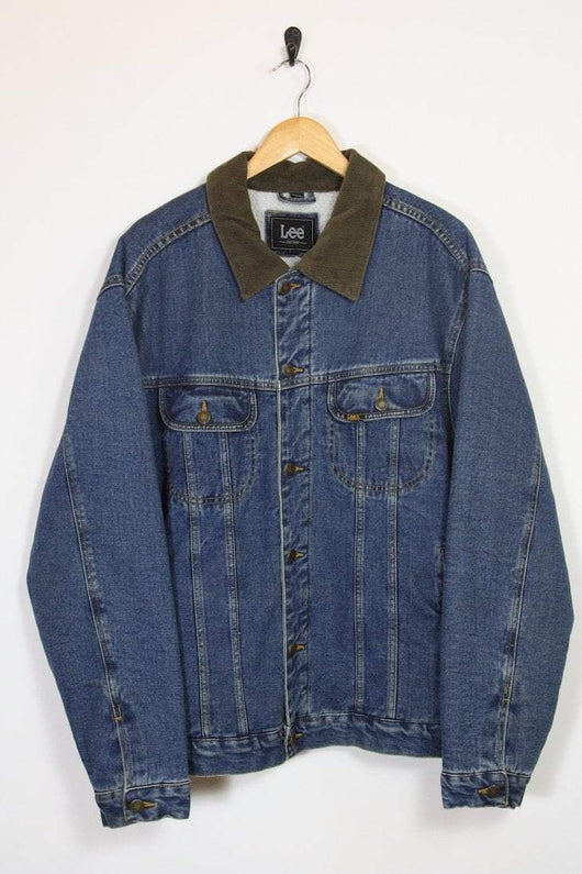 Lee Jacket Vintage Lee Denim Sherpa Jacket