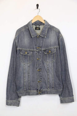 Lee Jacket xl / blue / cotton Womens Lee Denim Jacket - Blue XL