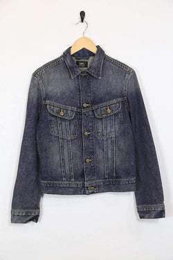 Lee Jacket XS / Blue / Cotton Womens Lee Denim Jacket - Blue XS