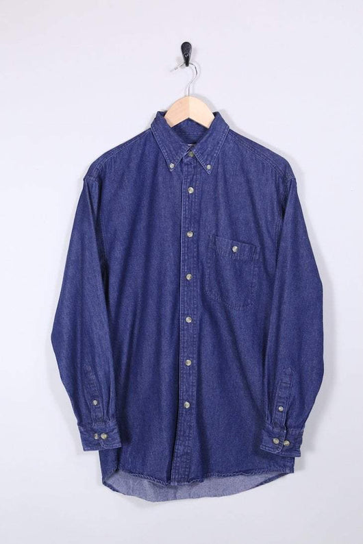 Lee Shirt Vintage Lee Dark Denim Shirt