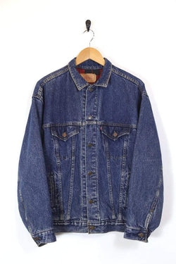 Men's Levi's Lined Denim Jacket - Blue L