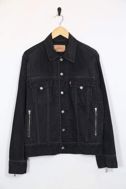 Levis Jacket M / Black / Cotton Womens Levi's Denim Jacket - Black M
