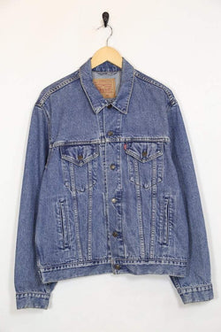 Levis Jacket m / blue / cotton Womens Levi's Denim Jacket - Blue M