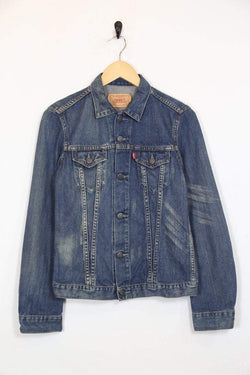 Levis Jacket s / blue / cotton Womens Levi's Denim Jacket - Blue S