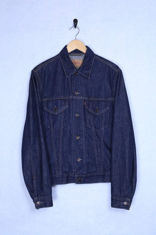 Levis Jacket Small / Indigo Vintage Levi's Indigo Denim Jacket