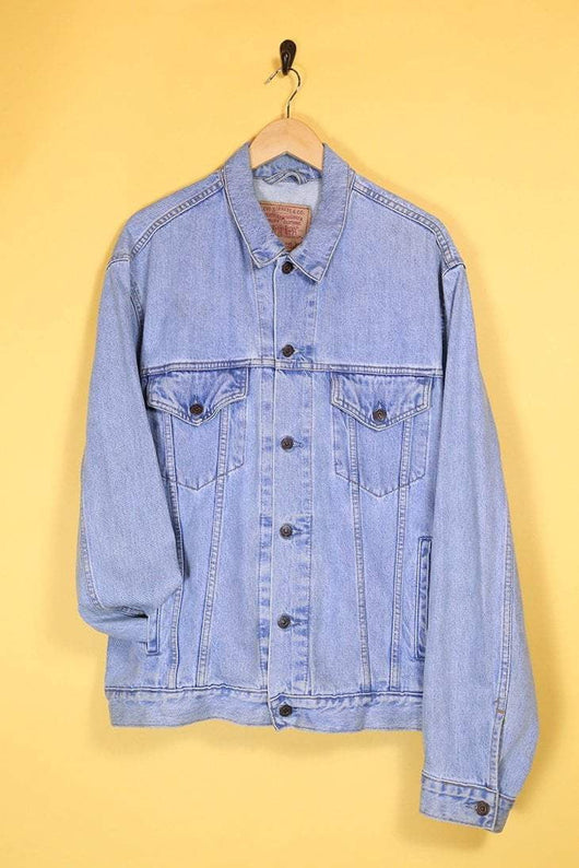 Levis Jacket Vintage Levi's Blue Denim Jacket