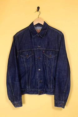Levis Jacket Vintage Levi's Dark Denim Jacket