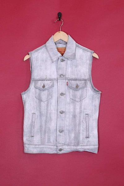 Levis Jacket Vintage Levi's Sleeveless Denim Jacket