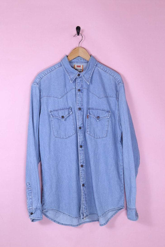 Levis Shirt Large / Blue Vintage Levi's Long Sleeve Denim Shirt