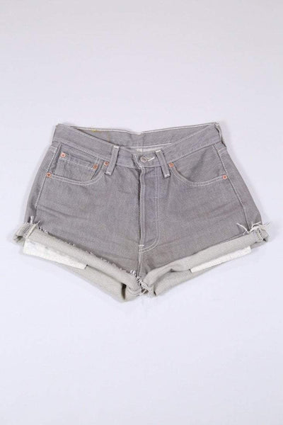 Levis Shorts 10 / Grey Vintage Levi's Denim Shorts