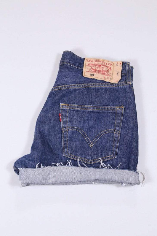 Levis Shorts 12 / Blue Vintage Levi's Denim Shorts