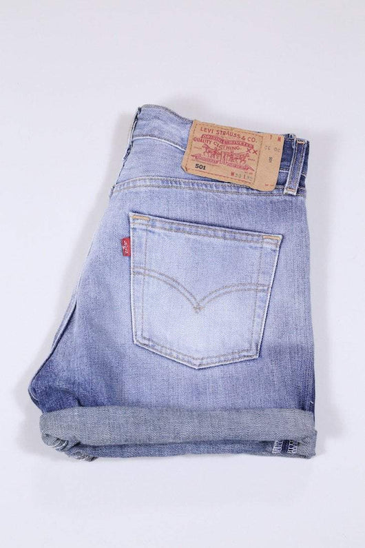 Levis Shorts 14 / Blue Vintage Levi's Denim Shorts