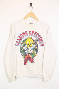 Looney Tunes Sweatshirt Vintage Tweety Pie Christmas Sweatshirt