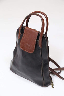 Loot Vintage Bag Brown / Leather Women's Leather Backpack - Brown