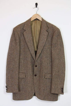Loot Vintage Blazer Brown Harris Tweed Blazer