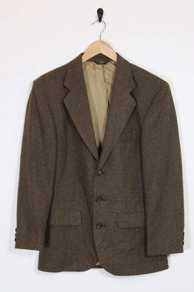 Loot Vintage Blazer Dark Brown Tweed Blazer