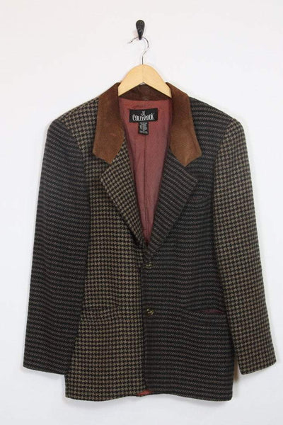 Loot Vintage Blazer Two Tone Tweed Blazer