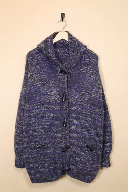 Loot Vintage Cardigan Longline Hooded Cardigan