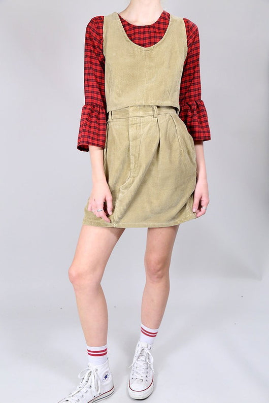 Loot Vintage Co-Ord 10 / Beige Vintage Reworked Tawny Co-Ord