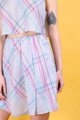 Loot Vintage Co-Ord 10 / Purple Vintage Reworked Pastel Two Piece