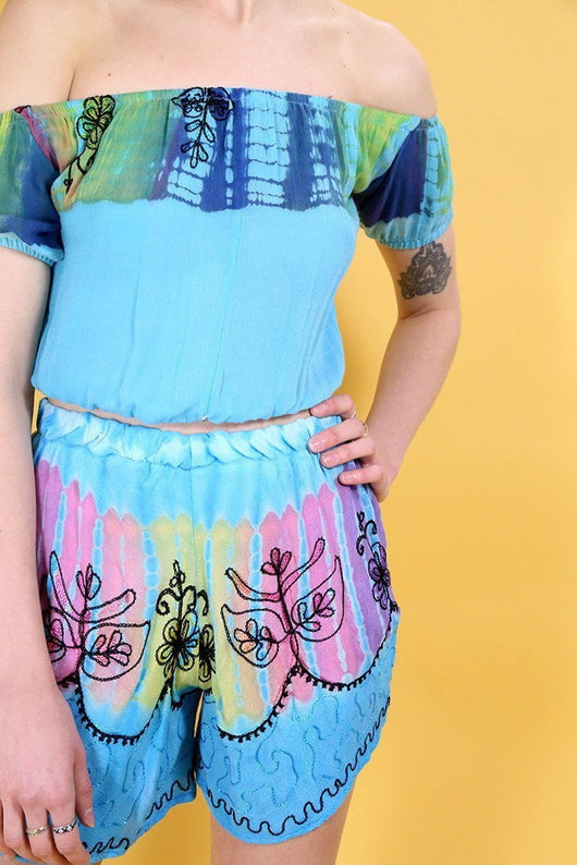 Loot Vintage Co-Ord Vintage Reworked Tie-Dye Co-Ord