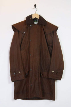 Loot Vintage Coat Chestnut Wax Hunting Jacket