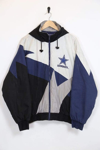 Loot Vintage Men's Cowboys NFL Jacket - Blue M