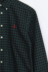 Kids Ralph Lauren Shirt - Green 12 Years