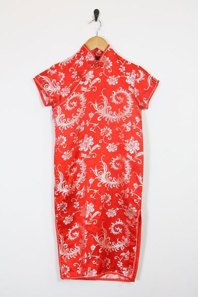 Loot Vintage Dress Red Midi Dress