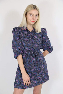 Loot Vintage Dress Vintage Paisley Print Dress