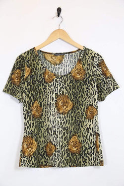 Loot Vintage Dress *Women's Leopard Print Top
