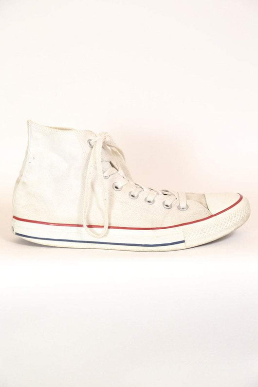 Vintage Converse All Stars - White 7.5