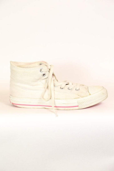 Vintage Converse All Stars - White 5.5