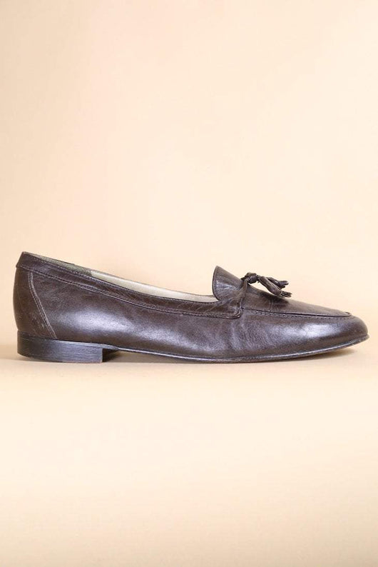 Loot Vintage Footwear Oak Brown Loafers