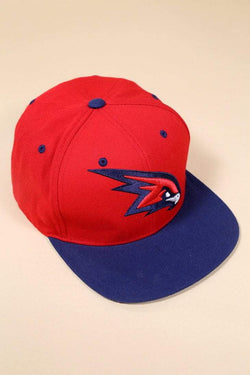 Men's Mitchell & Ness Snapback Cap - Red ONE SIZE - Loot Vintage