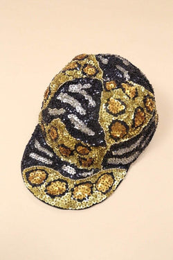 Loot Vintage Hat Sequin Cap