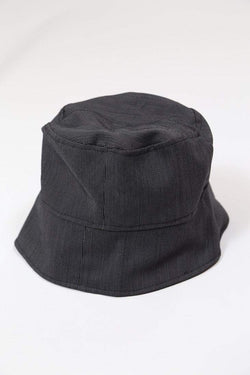 Loot Vintage Hat Vintage Reworked Striped Bucket Hat