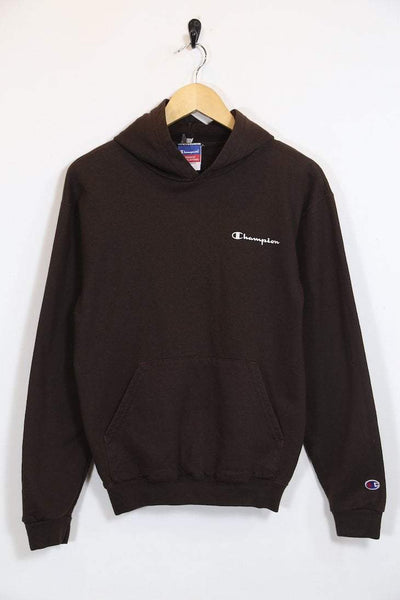 Women's Champion Hoodie - Brown S