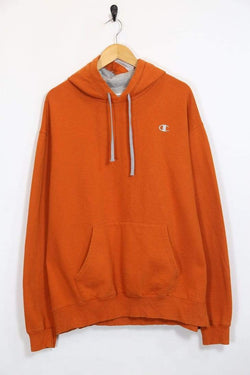 Loot Vintage Men's Champion Hoodie - Orange XL