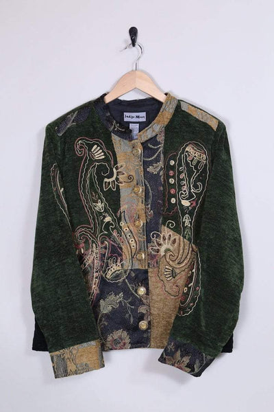 Loot Vintage Jacket Chenille Embroidered Jacket