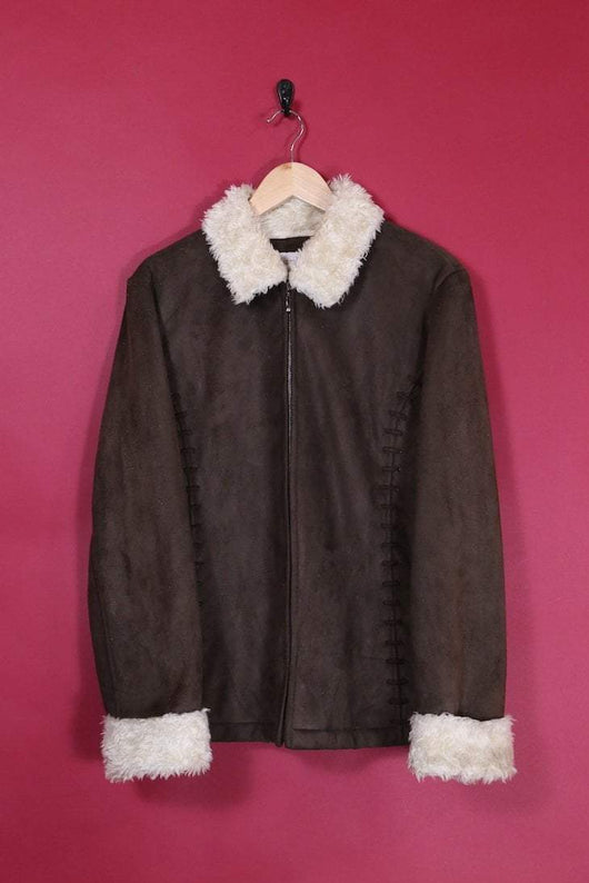 Loot Vintage Jacket Cocoa Shearling Jacket