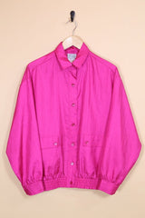 Loot Vintage Jacket Fuchsia Windbreaker