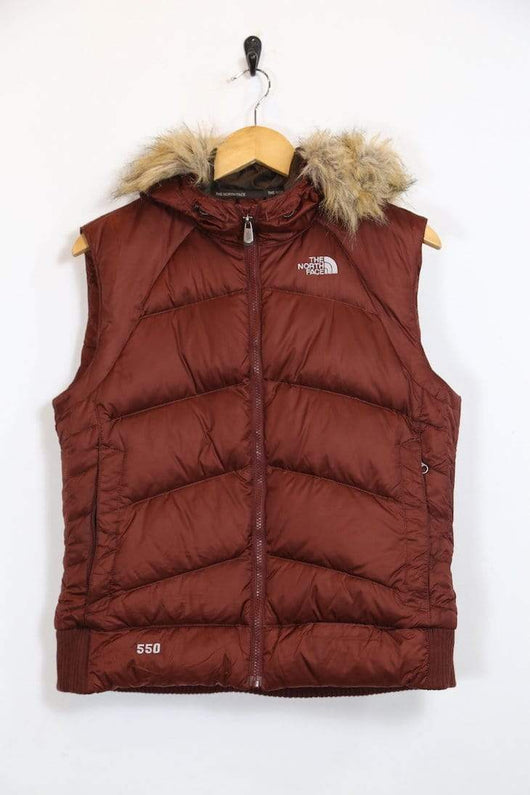 06403f1ac Vintage Women's The North Face Gilet - Brown L - B1599