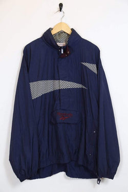 Men's Reebok Track Jacket - Blue L