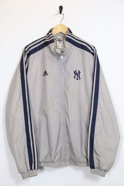 Loot Vintage Men's Adidas Jacket - Grey XL
