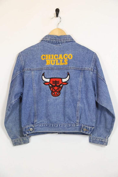 Women's Chicago Bulls Denim Jacket - Blue S