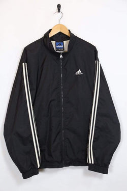 Loot Vintage Men's Adidas Track Jacket - Black XL