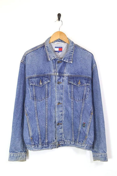 Men's Tommy Hilfiger Denim Jacket - Blue L